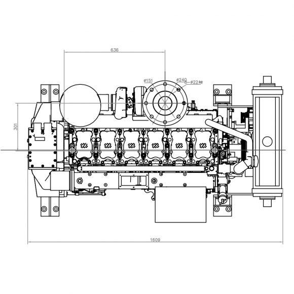 Motor-Marino-YTO-Motor-Marino-YTO-YM6S4WF-C320-top