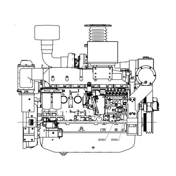 Motor-Marino-YTO-YM6S4W-C260-lado