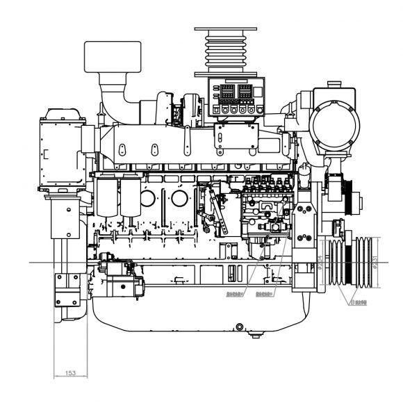 Motor-Marino-YTO-YM6S9W-C400-lado