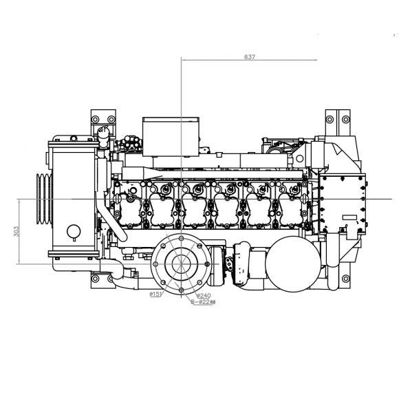 Motor-Marino-YTO-YM6S9W-C400-top